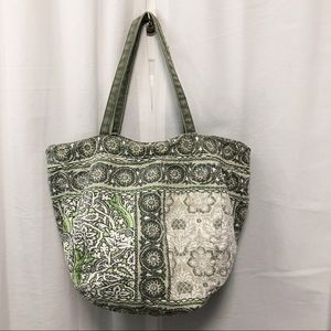 American Eagle Outfitters floral pouch tote bag